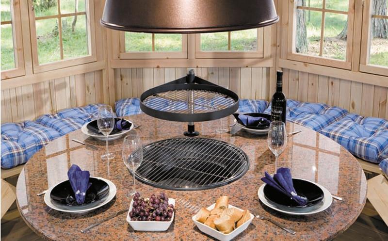 grillpavillon grillh tte paradise 6 m 42mm 3x3 hansagarten24. Black Bedroom Furniture Sets. Home Design Ideas