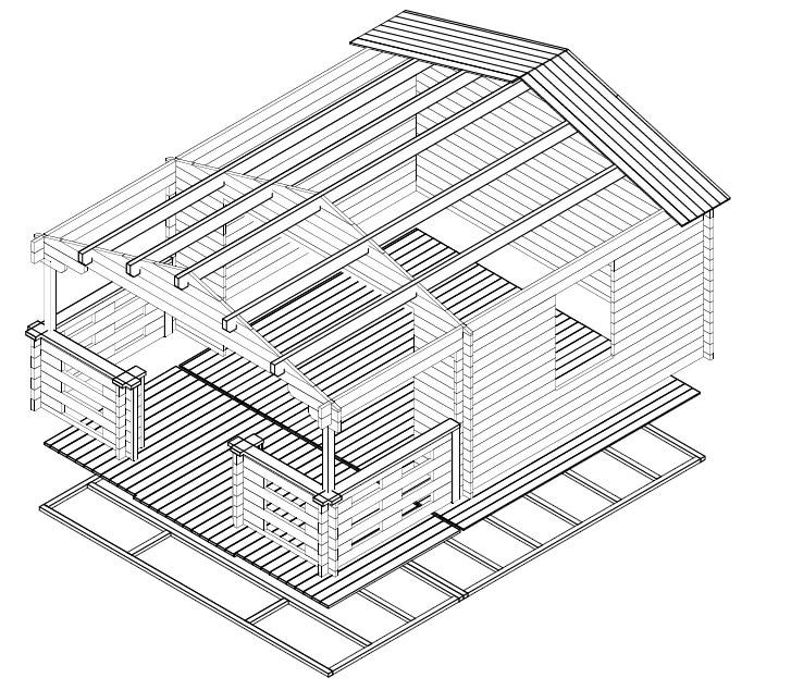 gartenhaus schiebet r holz. Black Bedroom Furniture Sets. Home Design Ideas