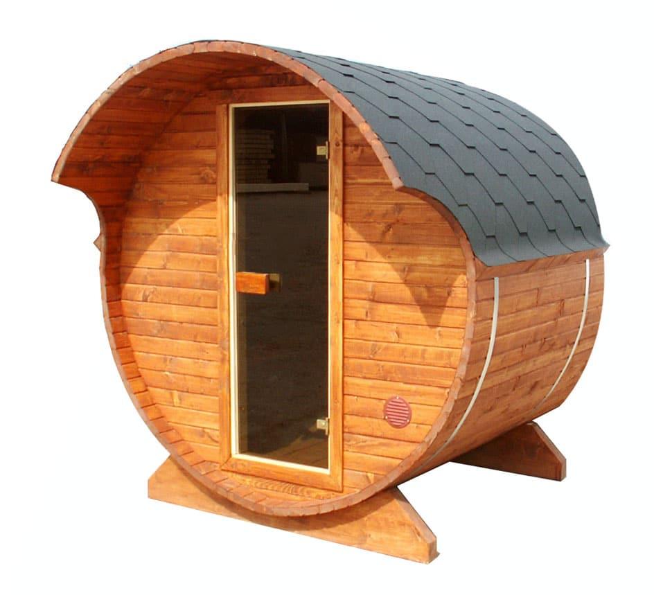 fass sauna boris l hansagarten24. Black Bedroom Furniture Sets. Home Design Ideas