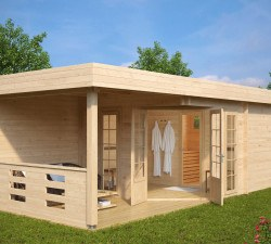 Gartenhäuser mit Sauna