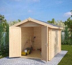 Holz Gerätehaus (Geräteschuppen) Andy L
